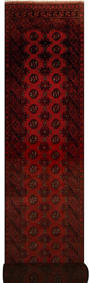 Sale 8424C - Lot 27 - Afghan Turkman Runner 560cm x 80cm