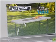 Sale 8478 - Lot 2130 - Pair of Modern Fold Out Trestle Tables
