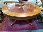 Sale 8680 - Lot 1014 - Round Timber Coffee Table