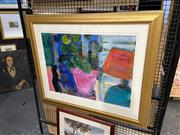 Sale 8888 - Lot 2052 - Jule Elwin Interior Still Life 88 x 104cm (frame), signed