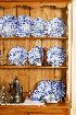 Sale 3660 - Lot 75 - A SPODE BLUE AND WHITE DINNER SERVICE