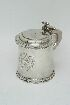 Sale 3691 - Lot 4 - A WILLIAM & MARY SILVER TANKARD