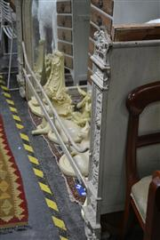 Sale 8050B - Lot 12 - 19th Century French Cast Iron Bed Painted White