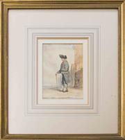 Sale 8439A - Lot 43 - French School - Naval Officer