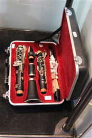 Sale 8296 - Lot 86 - W.Schreiber 6009s Clarinet In Case