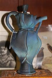 Sale 8346 - Lot 38 - Clare Locker Studio Pottery Teapot (AF)
