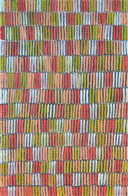 Sale 8409A - Lot 514 - Jeannie Mills Pwerle (1965 - ) - Bush Yam 150 x 99cm