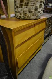 Sale 8566 - Lot 1652 - Vintage Chest of 5 Drawers