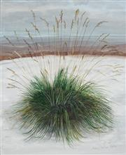 Sale 8907 - Lot 561 - Audrey Johnson (1919- 2010) - Tall Grass in the Snow, 1977 28.5 x 23.5 cm