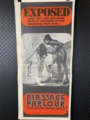 Sale 9003P - Lot 59 - Vintage Movie Poster - Massage Parlour