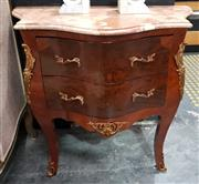 Sale 9063 - Lot 1001 - French Style Bombe Chest With Marble Top
