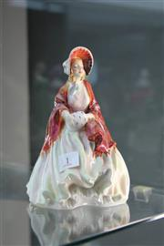 Sale 8261 - Lot 1 - Royal Doulton Figure Her Ladyship