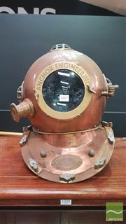 Sale 8404 - Lot 1007 - Anchor Engineering Reproduction Divers Helmet