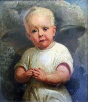 Sale 8544A - Lot 5010 - Artist Unknown - The Cherub 21.5 x 18cm