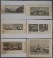 Sale 8734A - Lot 78 - A collection of (6) various antique prints
