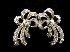 Sale 7358 - Lot 66 - A PAIR OF 9CT WHITE GOLD AND DIAMOND EARRINGS;