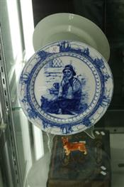 Sale 7876 - Lot 37 - Royal Doulton Plate & a Royal Doulton Figure of a Corgi