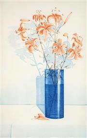 Sale 8514A - Lot 5003 - Peter Hickey (1943 - ) - Tiger Lillies, 1991 78 x 50cm
