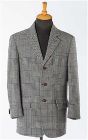 Sale 8550F - Lot 196 - Three country style including elbow patches gent's jackets including a Bijan and two Rossini's, size approx L.