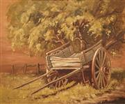 Sale 8583A - Lot 5097 - Robert Wilson (1942 - ) - Leggetts Spring Cart, Hill End 36.5 x 44cm