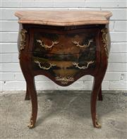 Sale 9063 - Lot 1006 - French Style Chest With Marble Top