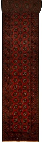Sale 8439C - Lot 21 - Afghan Turkman Runner 780cm x 80cm