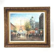Sale 8545N - Lot 243 - French Painting, oil on canvas (56cm x 50cm)