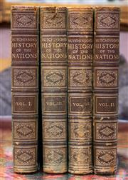 Sale 8568A - Lot 87 - Hutchinson & Co Hutchinsons History of the Nations, 4 volumes