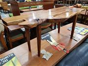 Sale 8930 - Lot 1042 - Designer Yew Wood Coffee Table by Betwold of Lodlow