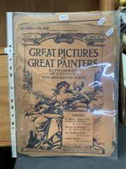 Sale 9008 - Lot 2073 - Group of (3) Early Magazine Pages incl: Harold Nelson, Castelle & Company -