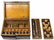 Sale 7995 - Lot 34 - Victorian Timber Games Box