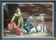 Sale 8607 - Lot 1007 - Framed Matador Print
