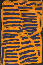 Sale 8830 - Lot 586 - Minnie Pwerle (1922 - 2006) - Untitled 46 x 30.5cm (stretched and ready to hang)