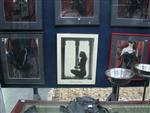Sale 7926A - Lot 1651 - Pair of framed colour mistress photographs together with a black and white image of Irena