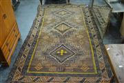 Sale 7981A - Lot 1067 - Brown & Black Tone Kilim (279 x 152cm)