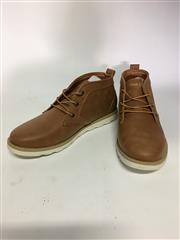 Sale 8288B - Lot 20 - Marco Gianni, Tanner Mens Shoes In Brown, Size 40, RRP $110, Some Damage To Box
