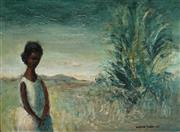 Sale 8975A - Lot 5064 - William Drew (1928 - 1983) - Goddess of the Outback, 1961 20 x 27.5 cm