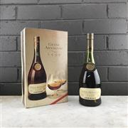 Sale 8976W - Lot 52 - 1x Janneau Tradition VSOP Grand Armagnac - old bottling, in box with 2 glasses