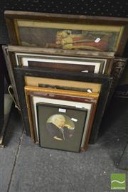 Sale 8214 - Lot 2094 - Collection of Royal Ephemera including, prints, engravings and copper frame