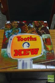 Sale 8326 - Lot 1447 - Tooths Beer Sign