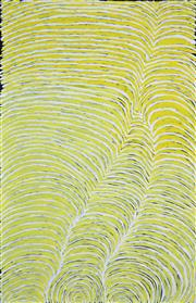 Sale 8389 - Lot 520 - Gloria Petyarre (c1945 - ) - Body Paint Design 150 x 98cm