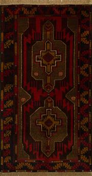 Sale 8439C - Lot 22 - Persian Baluchi 200cm x 145cm