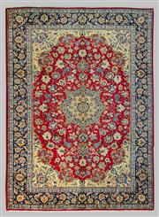 Sale 8539C - Lot 4 - Persian Isfahan 414cm x 303cm