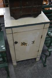 Sale 8013 - Lot 1195 - White Painted Pot cupboard