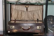 Sale 8160 - Lot 89 - Farmers Vintage Suitcase