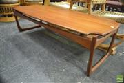 Sale 8310 - Lot 1003 - Quality Danish Teak Coffee Table