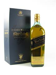 Sale 8329 - Lot 545 - 1x Johnnie Walker Blue Label Blended Scotch Whisky - in box