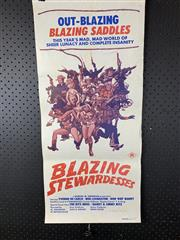 Sale 9003P - Lot 63 - Vintage Movie Poster - Blazing Stewardesses