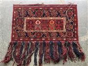Sale 9063 - Lot 1018 - Persian Red and Blue Tone Wall Hanging
