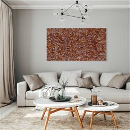 Sale 9154JM - Lot 5050 - LINDA GIBSON Bush Medicine acrylic on canvas 110 x 200 cm (stretched and ready to hang) signed verso; certificate of authenticity in...